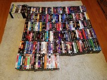 230 Video Tapes some still new in shrink wrap, no duplicates in Columbus, Georgia