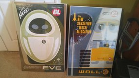 WALL-E Posters TWO LARGE posters with frames in Morris, Illinois