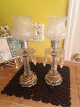 set two vintage buffet lamps in Columbus, Georgia
