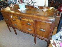 "ANTIQUE WATERFALL BUFFET 5' x 3'H x 19""D in Cherry Point, North Carolina"