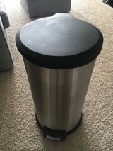Mainstays 7.9 Gallon Round Stainless Steel Waste Can in Conroe, Texas