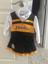 Toddler Pittsburgh Steelers cheerleader uniform in Joliet, Illinois