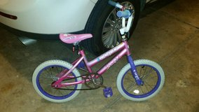 Pink and purple bike in Fort Carson, Colorado