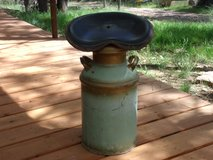 Antique Milk Can Stool in Alamogordo, New Mexico