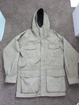 REI Khaki Coat in Naperville, Illinois