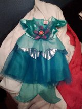 6-12 Month Lil Mermaid Disney Costume for Halloween or Dress Up in Fort Campbell, Kentucky