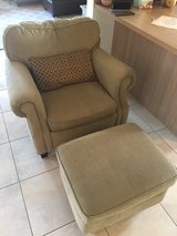 Lane Chair and Ottoman in Ramstein, Germany