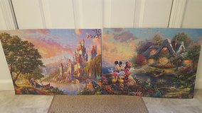 Disney Thomas Kinkade Collectible puzzles in Fort Drum, New York