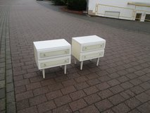 2 vintage night stands in Ramstein, Germany