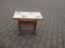 magazine table with tiles in Ramstein, Germany