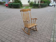 high back rocking chair in Ramstein, Germany