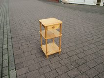 pine stand with drawer in Ramstein, Germany