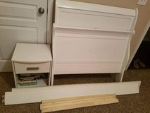Bed and night stand great condition sets in Clarksville, Tennessee