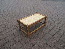 oak plant stand with tiles in Ramstein, Germany
