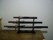 3 Piece Sword set with Stand in Clarksville, Tennessee