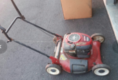 Craftsman Lawnmower - gas powered in Camp Pendleton, California