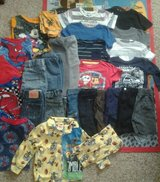 Box of boys clothes 2t -3t in Camp Pendleton, California