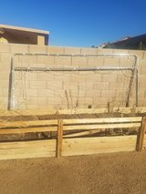 Big soccer goal in Yucca Valley, California