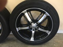 "17"" Alloy Wheels with Used Tires in Warner Robins, Georgia"