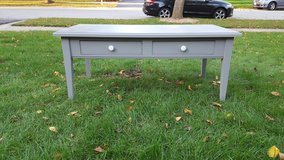 grey coffee table in Plainfield, Illinois
