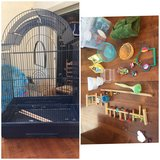 Bird cage and all supplies in Oceanside, California