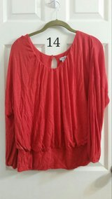 M, Red blouse in Alamogordo, New Mexico