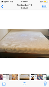 California king tempurpedic mattress and box springs in Kaneohe Bay, Hawaii