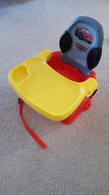 Disney Lighting McQueen Boys Booster Chair Seat in Bartlett, Illinois