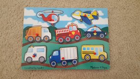 Melissa and Doug Trucks and Cars Puzzle in Bartlett, Illinois