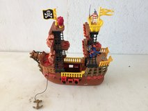 Imaginext pirate ship in Lawton, Oklahoma