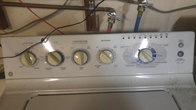 GE washer works good in Fairfield, California