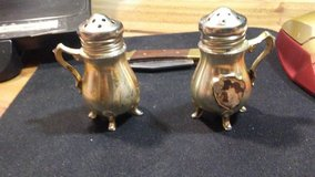 2 small salt and pepper shakers (silver coloured) in Alamogordo, New Mexico