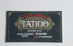 ~THE INK CHAMBER TATTOOS~ IN KINGWOOD by Les Chambers in Kingwood, Texas