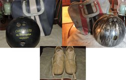 REDUCED Bowling Balls and 1 pair of shoes $15 for all in Fort Campbell, Kentucky
