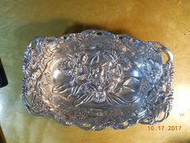 """Arthur Court Bunny & Orchids Large Serving dish, rectangular 14"""" x 8"""" x 3"""", mint in Houston, Texas"""