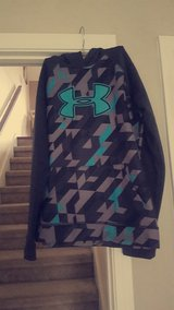 Teal and Gray UA Hoody in Fort Campbell, Kentucky