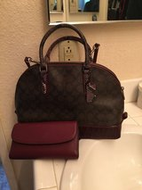 Coach purse and wallet in Camp Pendleton, California