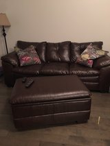 couch, loveseat and ottoman in Warner Robins, Georgia