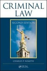 Details about  Criminal Law by Charles P. Nemeth (2011, Hardcover, Revised, New Edition) in Tacoma, Washington
