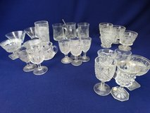 Pressed Glass Items in League City, Texas