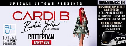 Cardi B live in Rotterdam in Ramstein, Germany