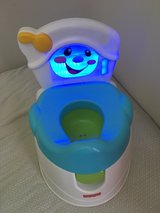 Fisher-Price Learn-To-Flush Potty in Fort Campbell, Kentucky