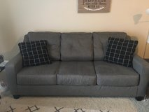 Grey Tufted Couch in Oceanside, California