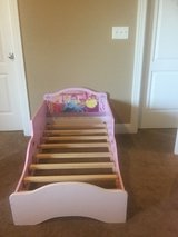 Princess toddler bed in Oswego, Illinois