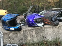 3 atv/dirt bike helmets in Fort Leonard Wood, Missouri