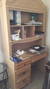 Desk hutch in Travis AFB, California
