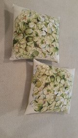 Pair of Pottery Barn Pillow Covers w/Down Inserts in Beaufort, South Carolina