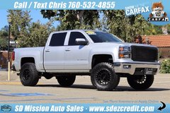 2015 Chevrolet Silverado =LIFTED= 9k Miles = 1500 LT Silver Chevy in Camp Pendleton, California