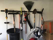 Various yard tools in Naperville, Illinois