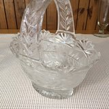 Large Crystal Basket in Clarksville, Tennessee
